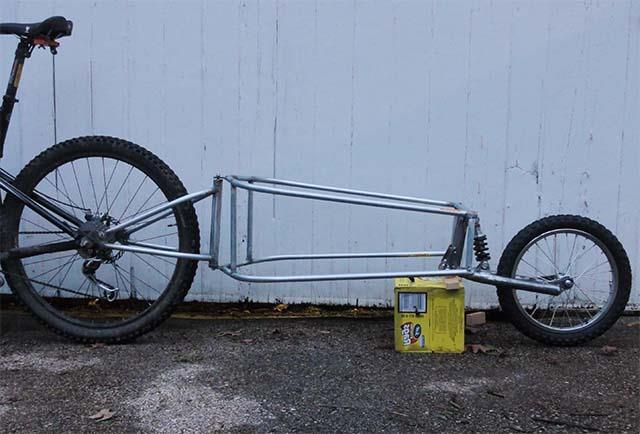Рама велосипедного прицепа