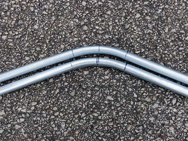 1/2 дюймовая тонкостенная металлическая трубка для изготовления своими руками велоприцепа
