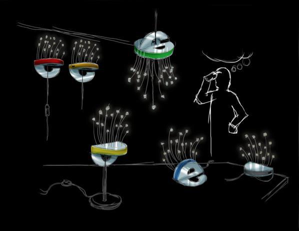 Различные вариации светодиодных светильников
