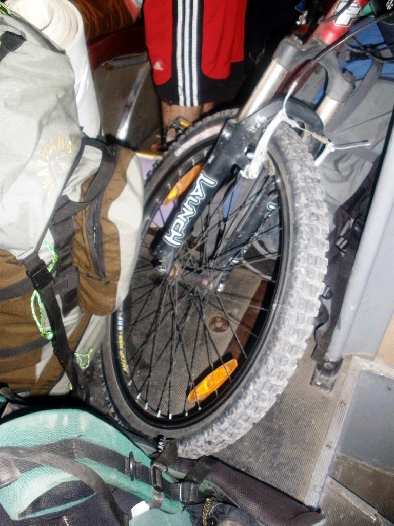 как перевозить велосипед в троллейбусе