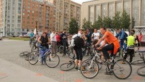 Велосипедисты Новосибирска
