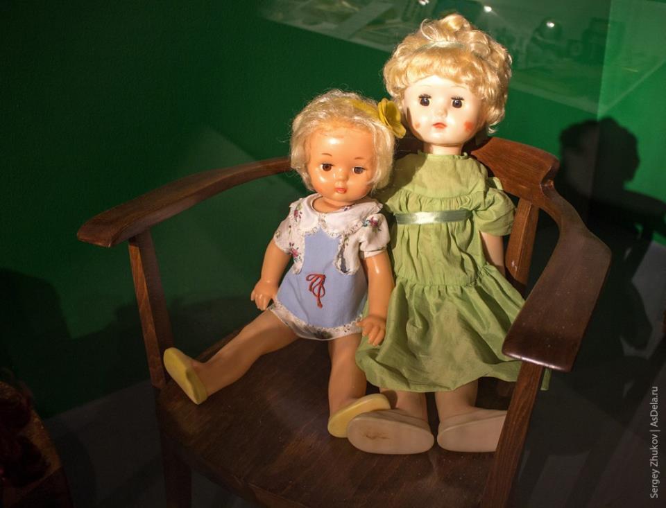 Куклы советского производства.