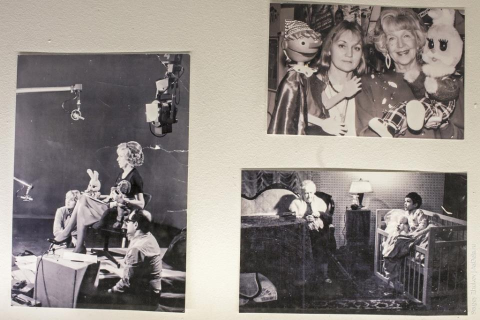 """Фотографии со съемок программы """"Спокойной ночи малыши!"""" 70-х годов."""