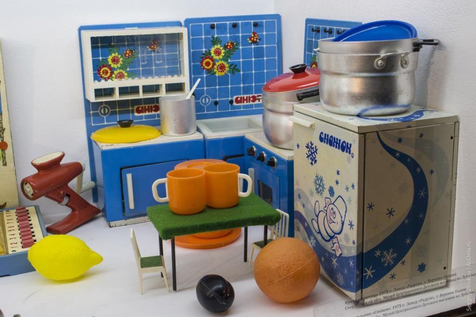 Отличная мини-кухня - мечта любой маленькой советской хозяйки.
