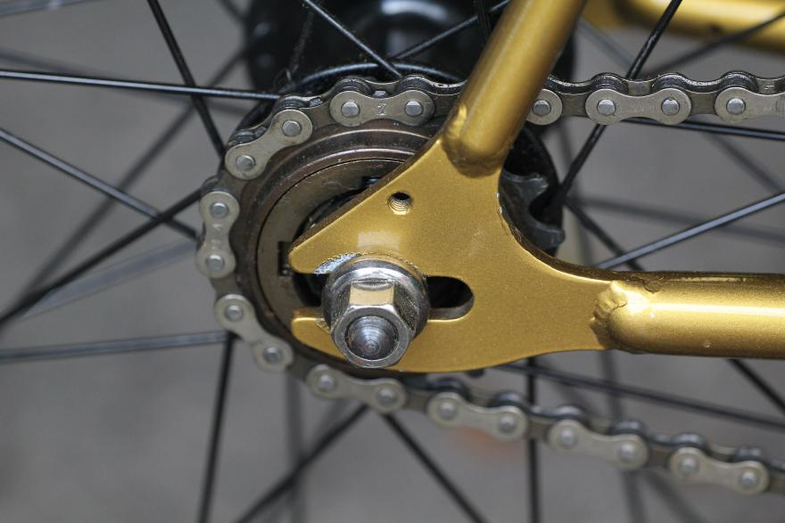 Горизонтальные дропауты на велосипеде