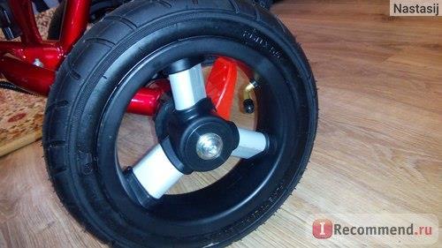 заднее колесо с нипеллем