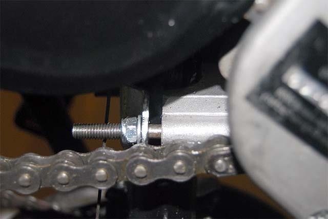 Установка бензинового двигателя на велосипед