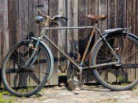 модернизированный старый велосипед