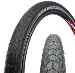 Покрышки Schwalbe Big Apple 26 дюймов для велосипеда