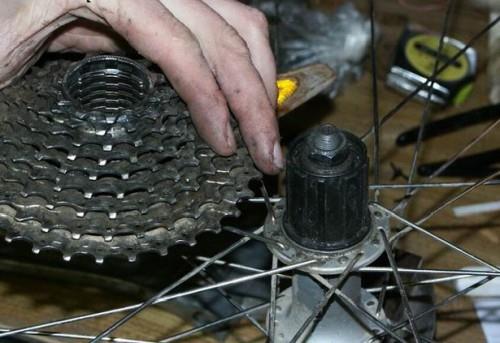 ремонт втулки заднего колеса велосипеда фото 3