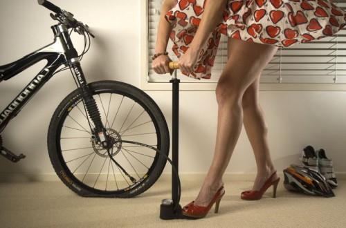 давление в шинах велосипеда фото