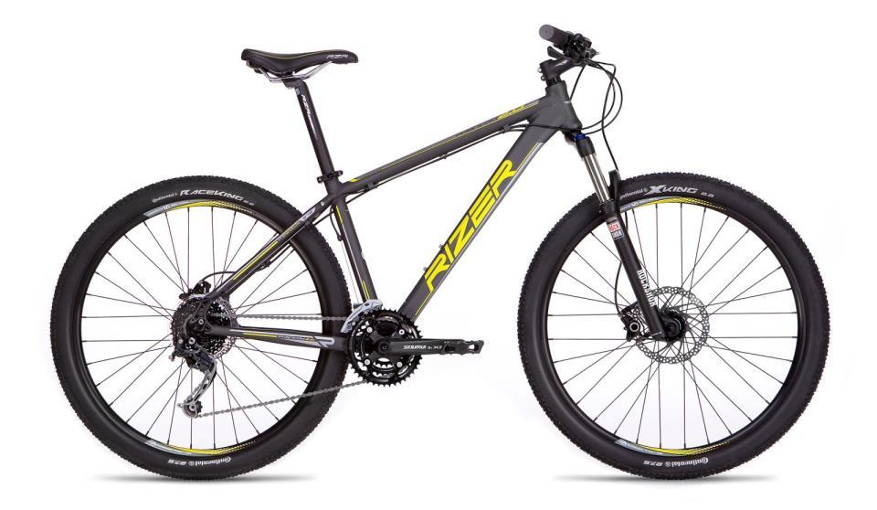 бюджетный велосипед rizer phanton 2.0