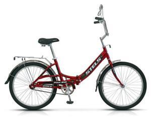 Взрослый складной велосипед Stels Pilot 810 24