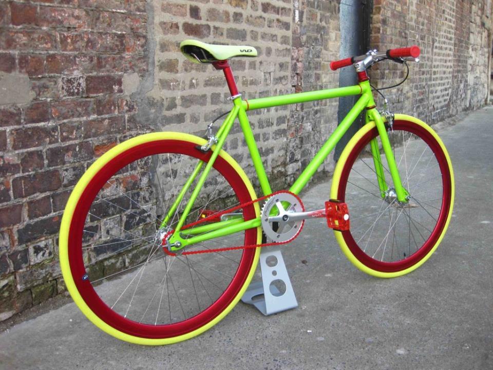 порошковая покраска велосипеда цена