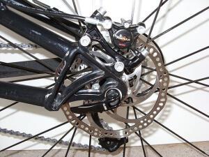 Задние дисковые тормоза на велосипед