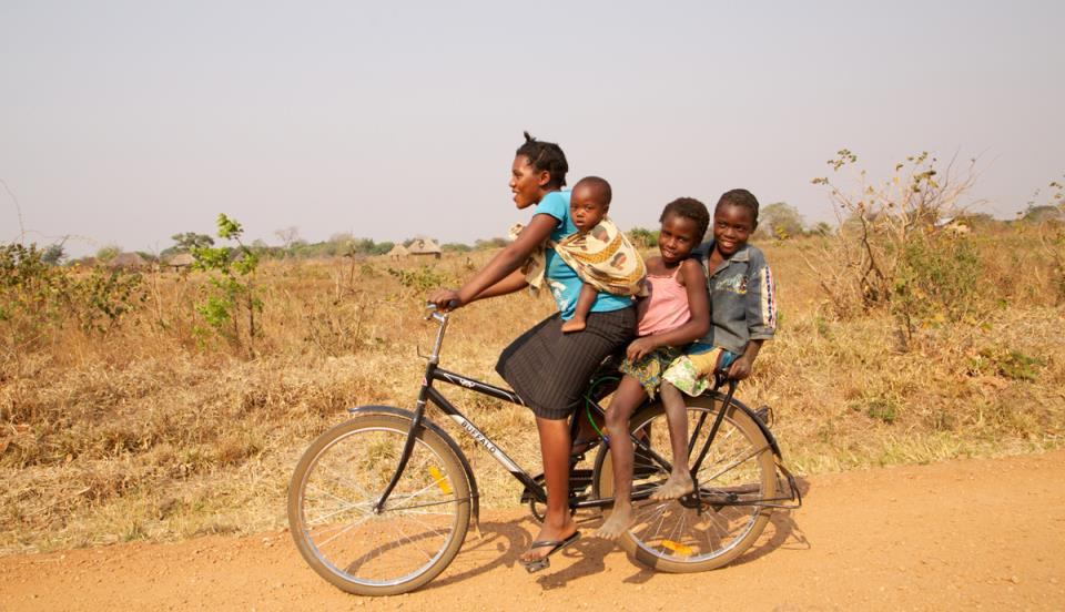 как напрягаться на велосипеде