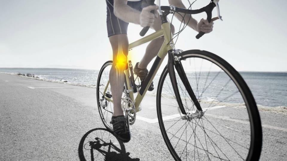 что болит у велосипедиста