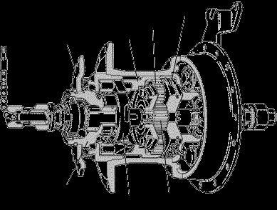 Устройство 3 скоростной планетарной втулки Sturmey-Archer