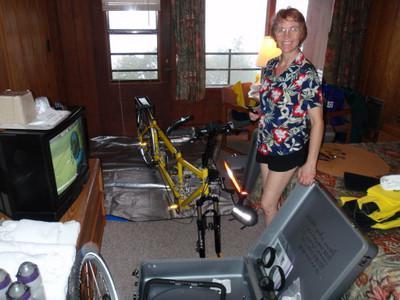 собрать велосипед самому