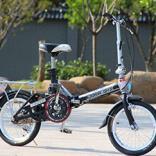 Складной мини-велосипед для города