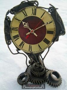 43 Интерьерные часы ручной работы, настольные часы ручной работы, часы из металлолома