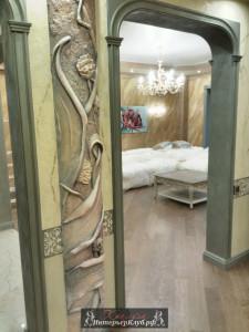 6 Декоративная штукатурка в интерьере, отделка стен декоративной штукатуркой
