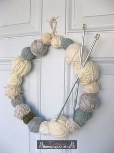 Вязаный декор в украшении дома своими руками, вязаный новогодний декор идеи, вязаный нг декор руками
