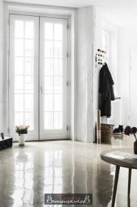 15 Бетонный пол в интерьере, Бетонный пол в квартире, Бетонный пол в интерьере фото