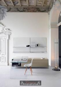 2 Белый цвет стен в интерьере