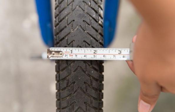 измерение параметров колеса велосипеда