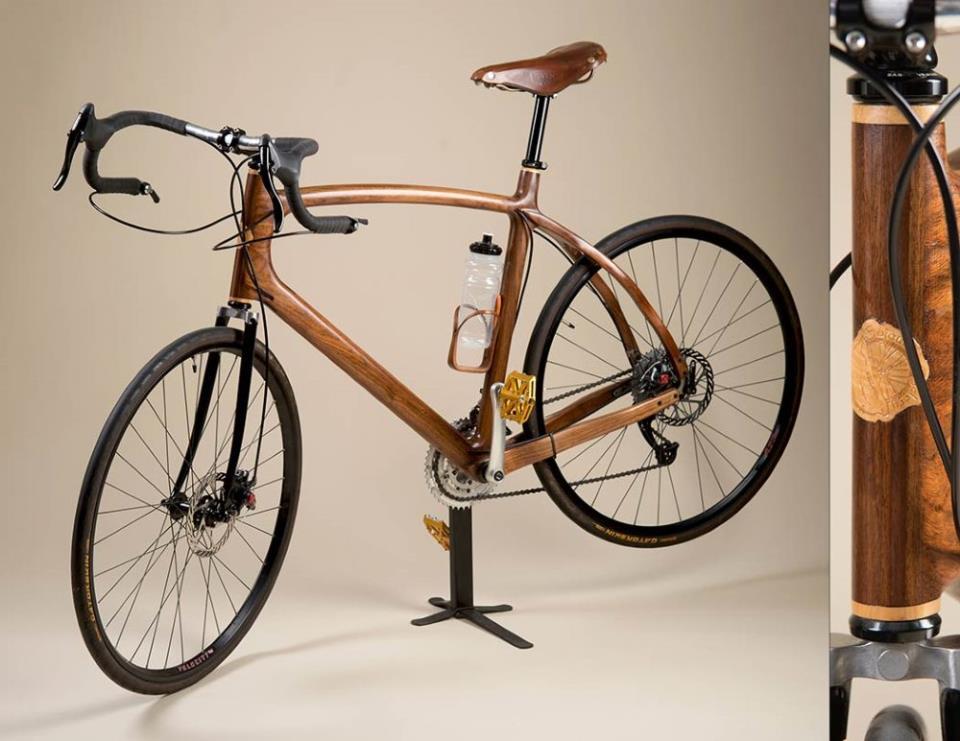 Элитный велосипед из дерева