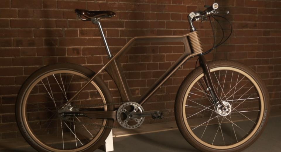 Как сделать деревянный велосипед