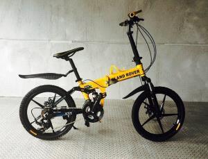 Велосипед на литых дисках Land Rover Kids