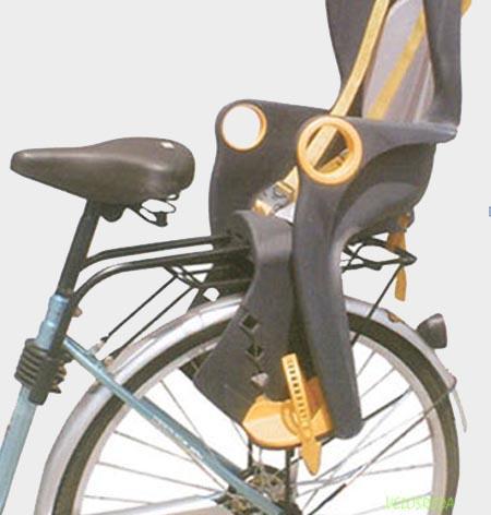 Заднее велокресло с креплением на подседельную трубу