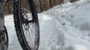 Велосипедные тормоза зимой