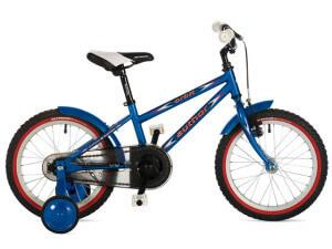 детский двухколесный велосипед author orbit с дополнительными колесами