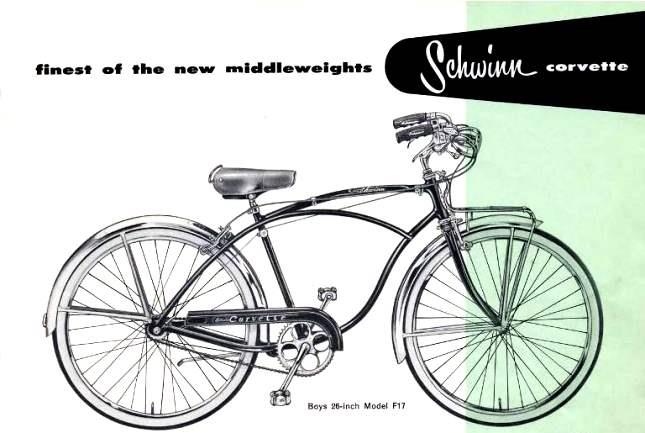 Велосипед Schwinn Сorvette
