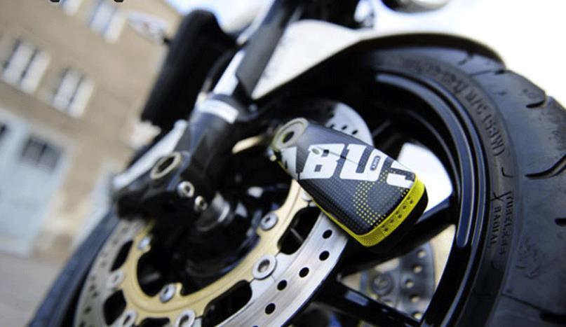 Велосипедный замок Abus: подойдет даже для мотоцикла