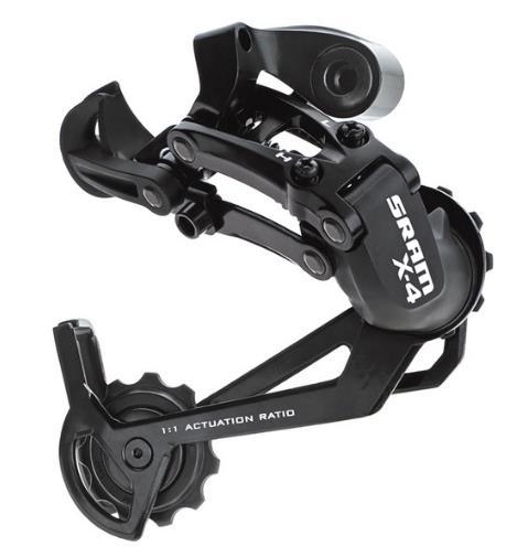 задний переключатель на велосипед sram x-4