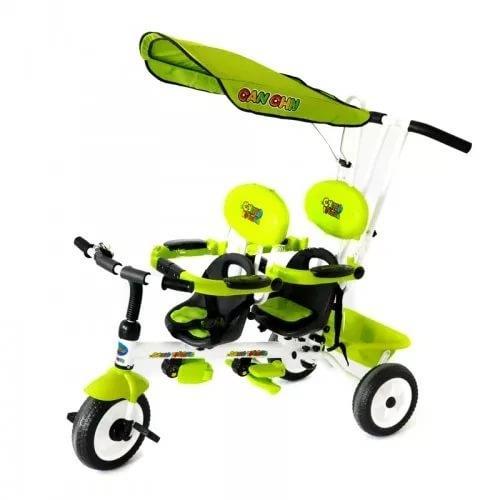 велосипед коляска для двойни