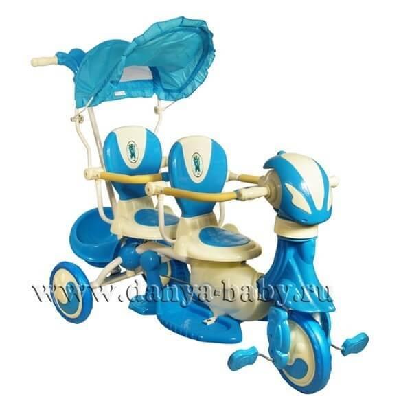 Велосипед для двойни Amalfy Twin