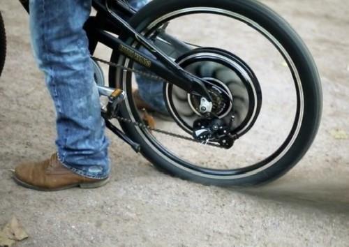 установка мотор колеса на велосипед фото