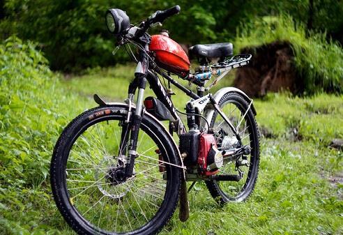 велосипед с мотором самодельный фото 1