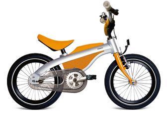 Детский велосипед BMW Kidsbike оранжевый