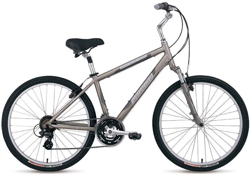 Комфортный гибридный велосипед Specialized Expedition Sport