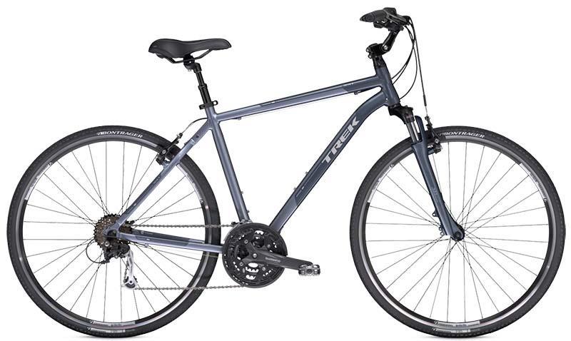 Самый лучший комфортный велосипед гибрид Trek Verve 4