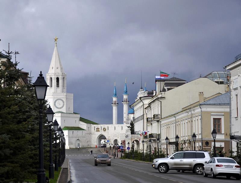 Групповой тур по Казани на экскурсионном автобусе