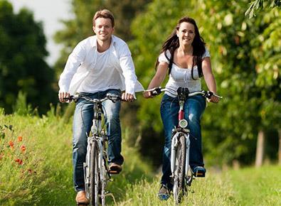 Любительское катание на велосипеде