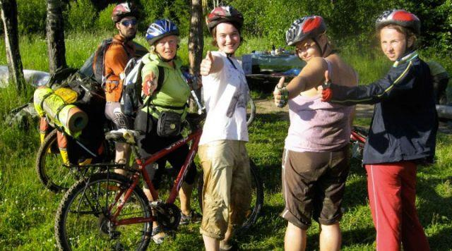 Велотуристы