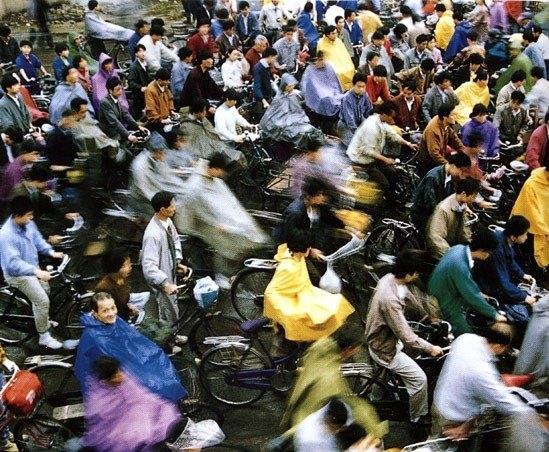 китайские велосипедисты